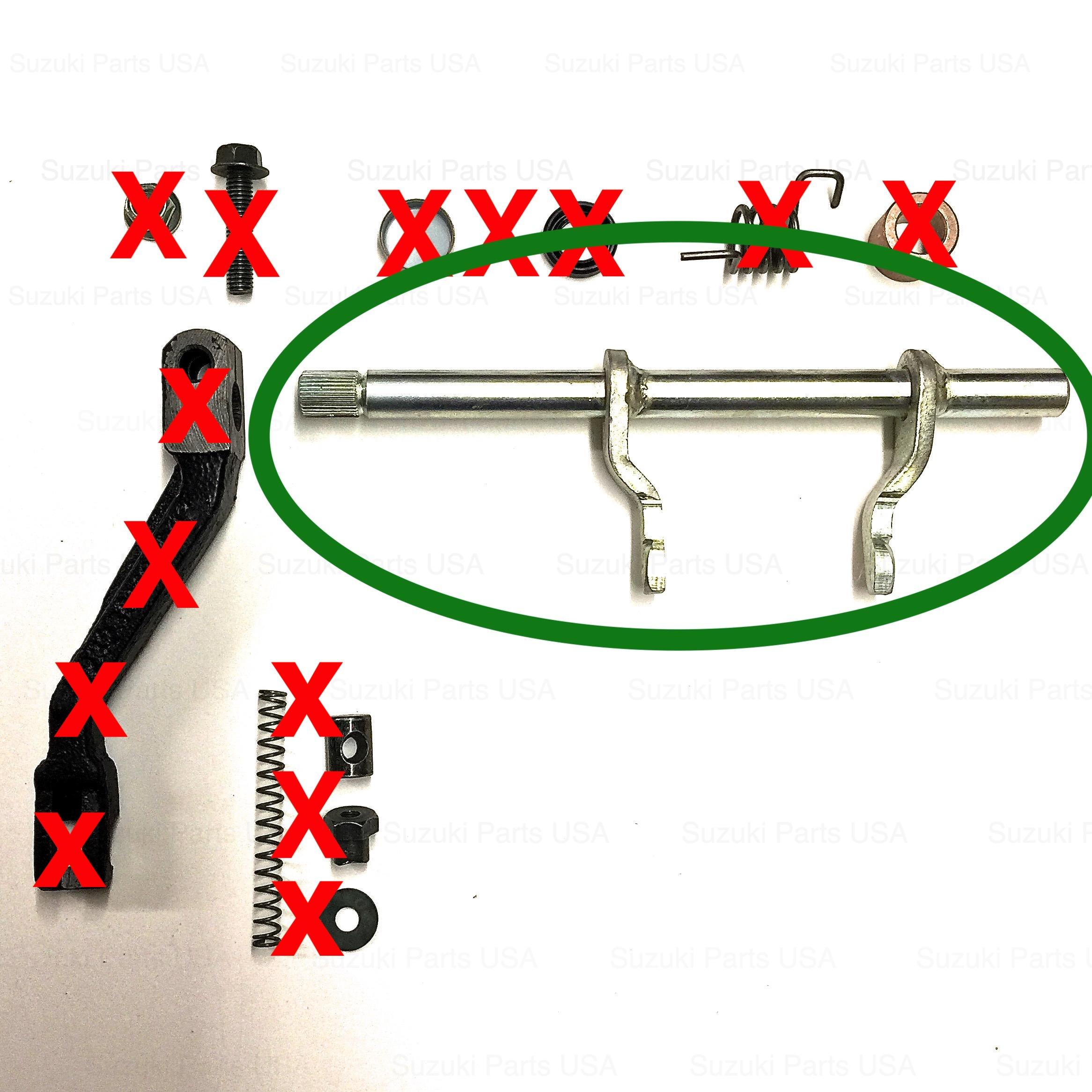 CLUTCH RELEASE ARM - OEM Transmission SJ413 Suzuki Samurai 86-95  ATL,GA