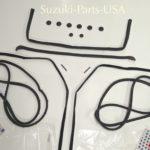 Complete-Kit-WeatherstrippingSealRubber-OEM-Suzuki-Samurai-86-95-ATLGA-292444380730-4