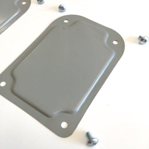 Qty 2 Covers For Seat Belt Holes Rh Amp Lh Sides Oem