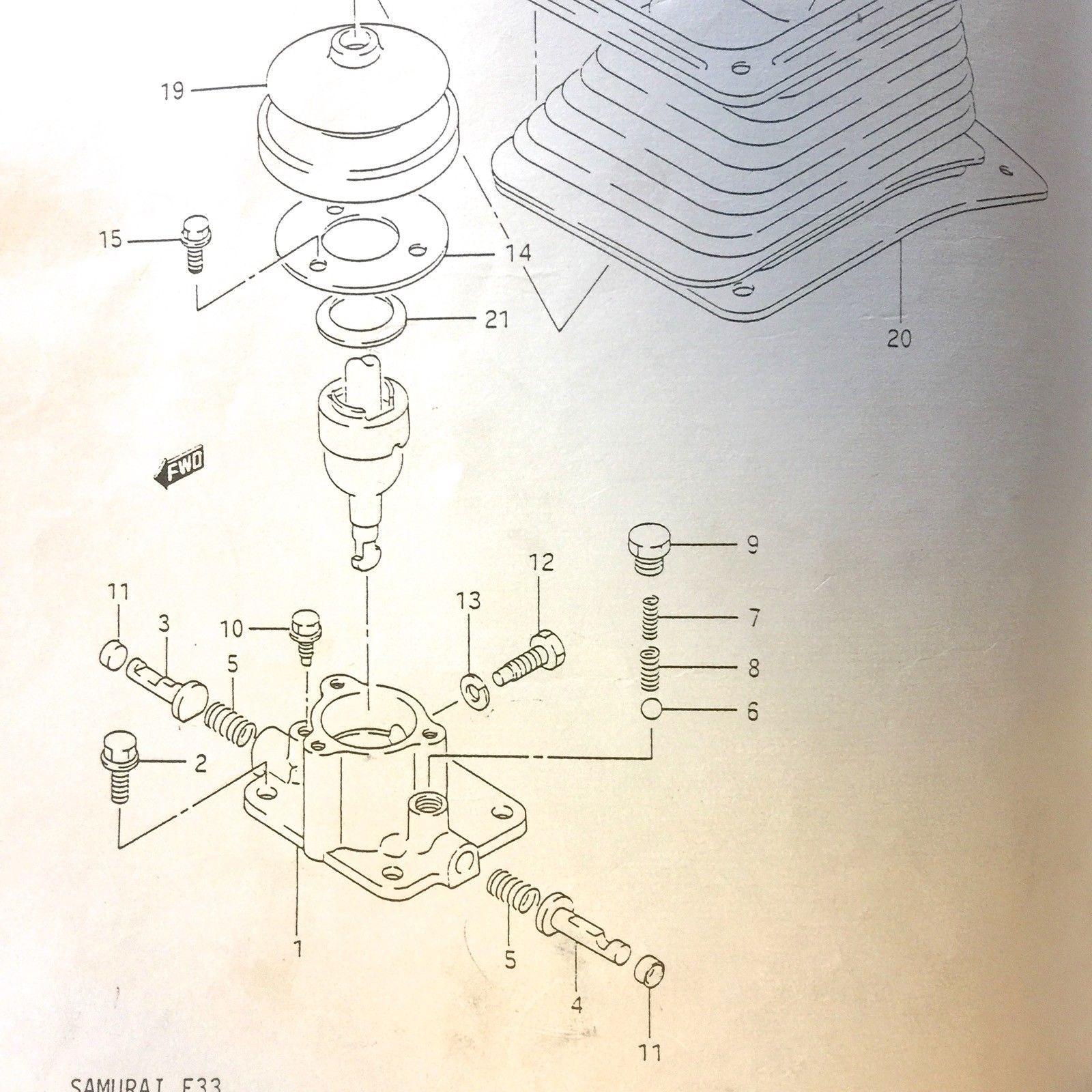 Transmission Shifter Case Rebuild    12mm Upper