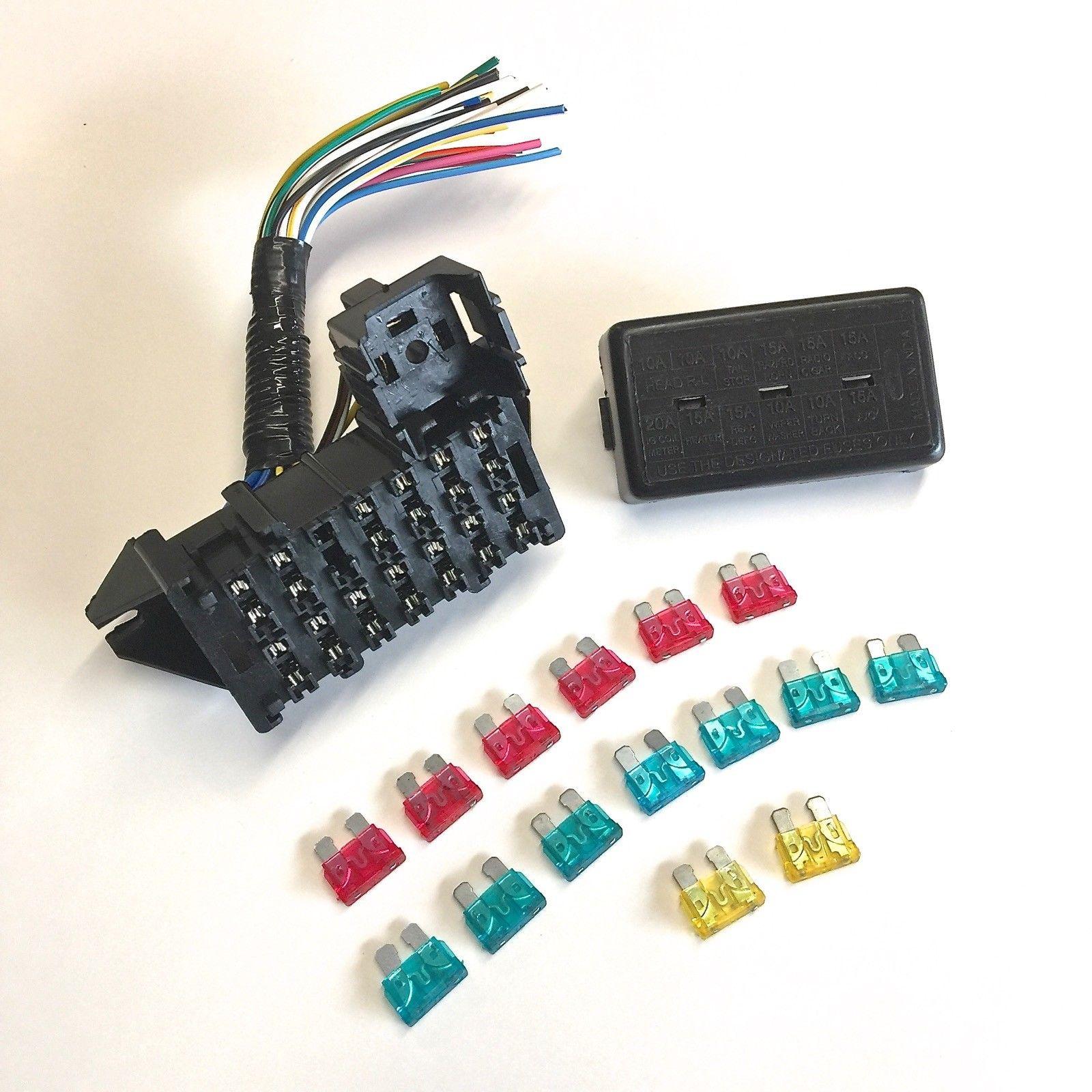 Main Fuse Box W   Wire Pigtail - Samurai 85 U0026 39 -95 U0026 39