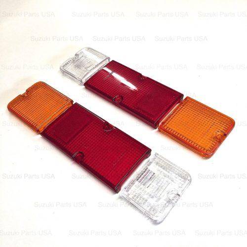AM-Brake-Light-Tail-Turn-Signal-Lens-SJ410-SJ413-Suzuki-Samurai-86-95-302640065933