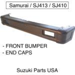 Front-Bumper-Qty-2-End-Caps-OEM-Suzuki-Samurai-86-95-ATLGA-292453430508