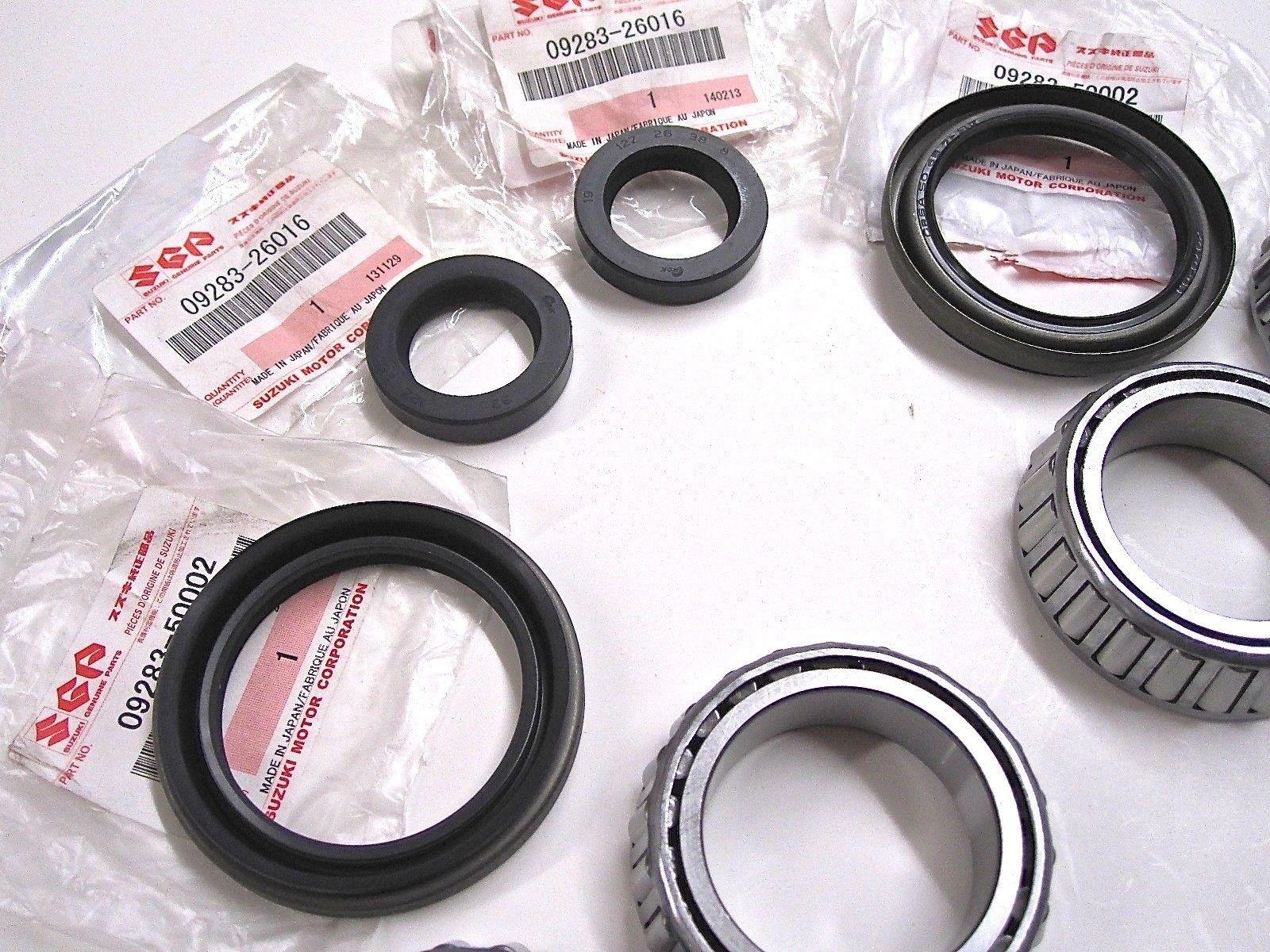 Wheel Bearing Replacement >> Front Wheel Bearing Replacement Oem Samurai 85 95