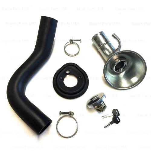Gas-Fuel-Filler-Inlet-Pipe-Fill-Hose-Locking-Gas-Cap-Suzuki-Samurai-86-95-292440129079